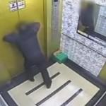Người đàn ông thoát chết trước khi sự cố thang máy xảy ra