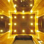 Hệ thống chiếu sáng trong thang máy gia đình