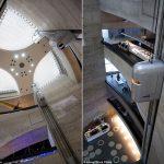 Thiết kế thang máy độc đáo tại Bảo tàng Mercedes-Benz