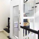 Thang máy gia đình loại nhỏ và lưu ý thiết kế hố thang