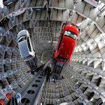 Loại thang máy đặc biệt đưa xe hơi xuống lòng đất