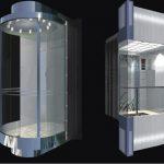 Thiết kế thang máy quan sát