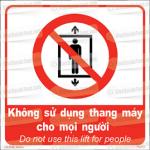 Nguy hiểm khi sử dụng thang máy với người lạ