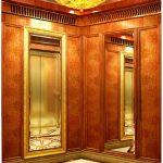 Lựa chọn nội thất cho cabin thang máy