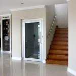 Thiết kế thang máy gia đình kết hợp thang bộ