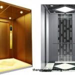 Thiết bị cấu thành nên cabin thang máy