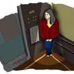 Người phụ nữ mất tích sau khi sử dụng thang máy